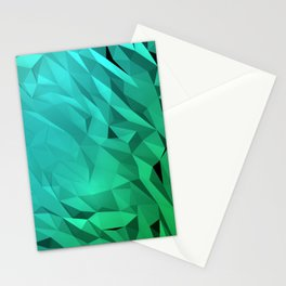 I Love Low Poly 3 Stationery Cards