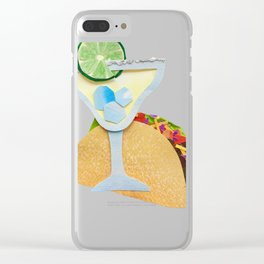 Taco Tuesday Clear iPhone Case