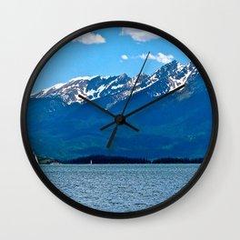 Lake Dillon Wall Clock