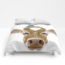 Bluebird Cow Comforters