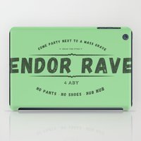 rave iPad Cases featuring Endor Rave by Messypandas