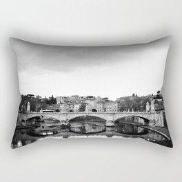 Sant'Angelo Bridge Rectangular Pillow