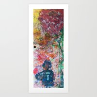 child Art Prints featuring child by Jen Hynds
