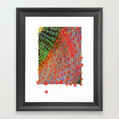 Christmas Pleff Framed Art Print