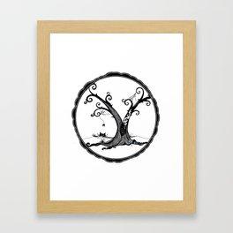 """Familiar and Friend"" Framed Art Print"