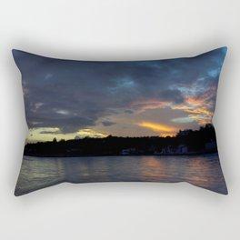 Sunset Panorama... Rectangular Pillow
