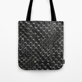 BLACK TUFT Tote Bag