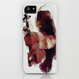 Strings iPhone Case