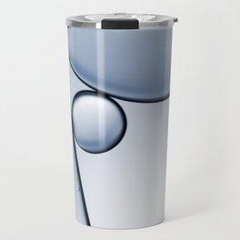 oil and water abstract I Travel Mug