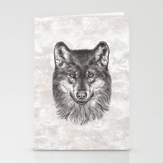 Canis Lupus (Gray Wolf) Stationery Cards