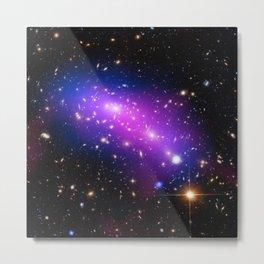 Colliding Galaxies Metal Print