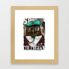 So collegian Framed Art Print