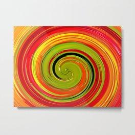 espiral Metal Print
