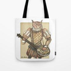 Banjo Cat Tote Bag