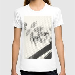 Forgotten Leaves on Plastic Roof Abstract T-shirt