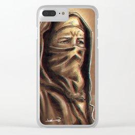 Ninja Carol Clear iPhone Case