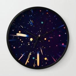 Glow Galaxy Wall Clock