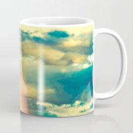 Rainbow Blue Sky Clouds Coffee Mug