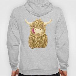Wee Hamish Highland Cow Hoody