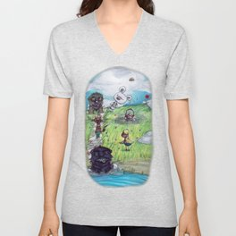 Only Dreams like Today Unisex V-Neck