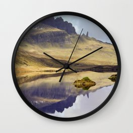 Reflection of Storr Wall Clock