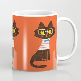 Fitz - Preppy cat Coffee Mug