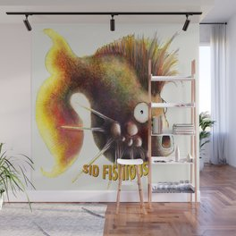 Sid Fishious with name Wall Mural