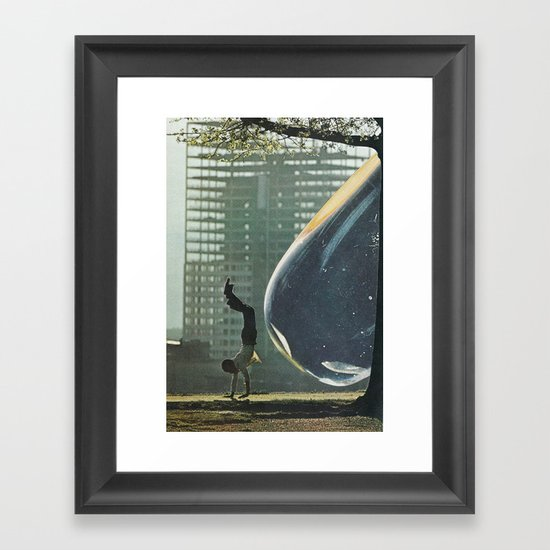 gota Framed Art Print