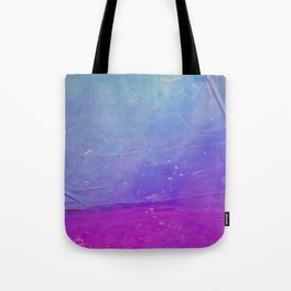 Abstract - blue and pink - Tote Bag
