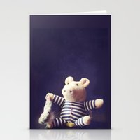 hug Stationery Cards featuring Hug by Sybille Sterk