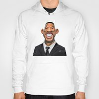 celebrity Hoodies featuring Celebrity Sunday ~ Will Smith by rob art | illustration