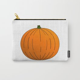 Pumpkin Illustration Carry-All Pouch