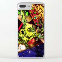 Intergalactic Guardian Constantin Clear iPhone Case