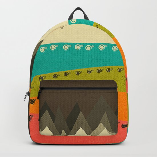 Textures/Abstract 122 Backpack