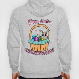 Easter Jesus Resurrection Egg Eggs Bunny Hunt Gift Hoody