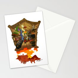 Little Quester The Herbal Man Stationery Cards
