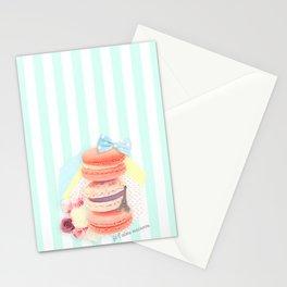 Je t'aime Macaron Stationery Cards