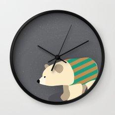 Polar Sweater Weather Wall Clock