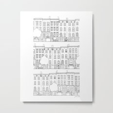 blocks of Brooklyn Metal Print