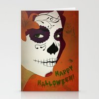 calavera Stationery Cards featuring Calavera by Eveline