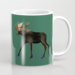 Moose in heels  Coffee Mug