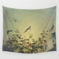freedom Wall Tapestries featuring Freedom by Victoria Herrera