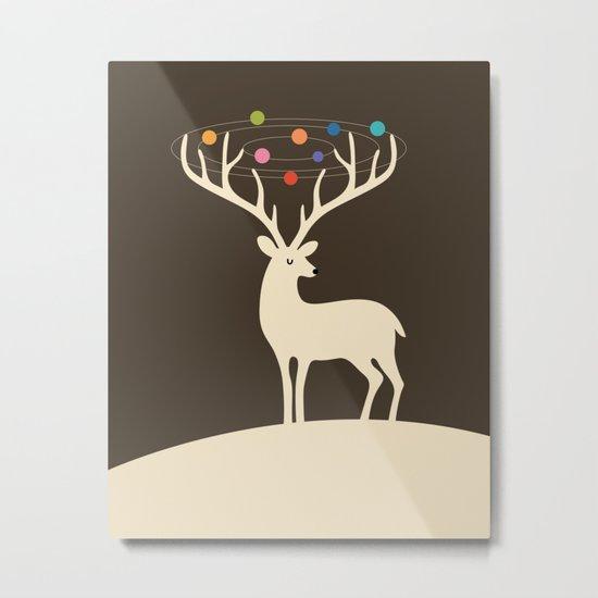 My Deer Universe Metal Print