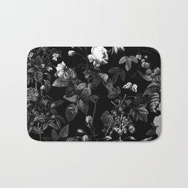 DARK FLOWER Bath Mat
