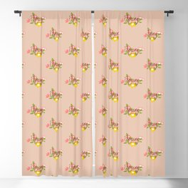 Spring is here Blackout Curtain