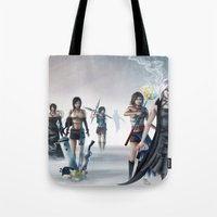final fantasy Tote Bags featuring Final Fantasy by ssst