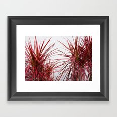 Tropical leaves II Framed Art Print