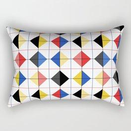 Retro Tiles #3 Rectangular Pillow