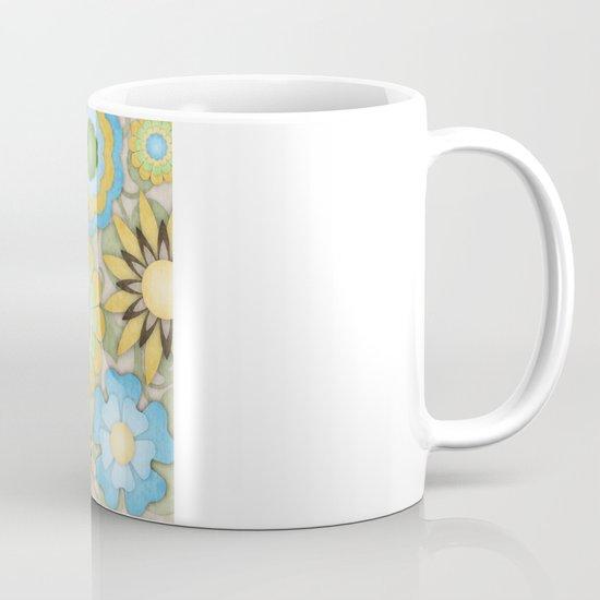 English Country Floral Mug