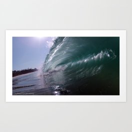 california pipeline Art Print
